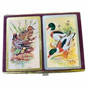 Vintage 1960s Congress Playing Cards Duck Series